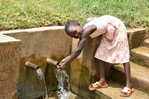 The Water Project:  Precious Enjoying The Water