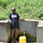 The Water Project: Tumaini Community, Ndombi Spring -  Noah