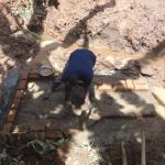 The Water Project: Shihome Community, Peter Majoni Spring -  Brick Setting