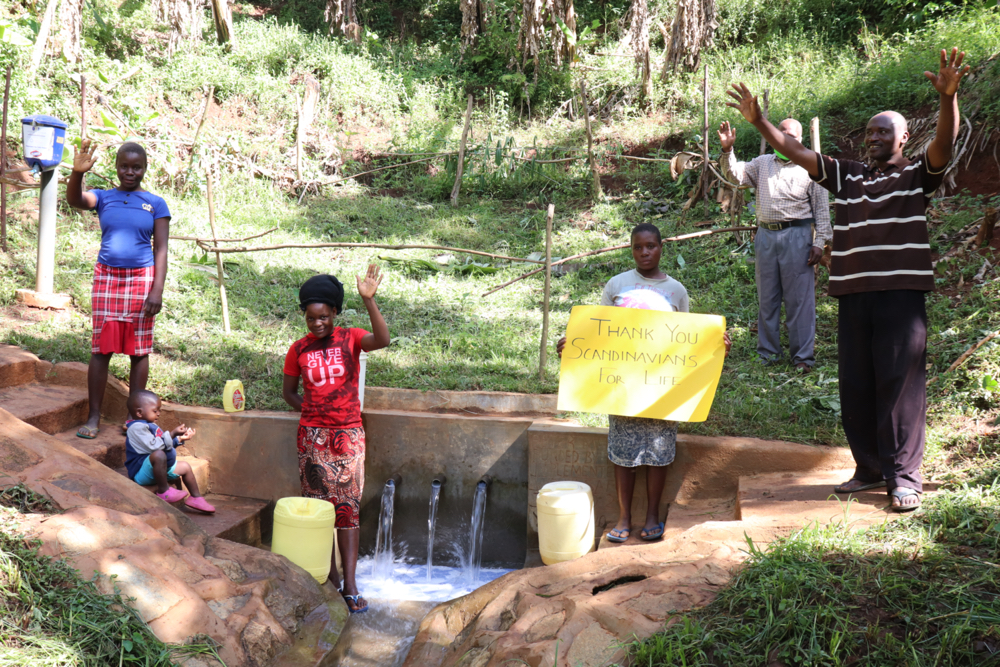 The Water Project : kenya20171-appreciating-the-donors