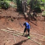 The Water Project: Shihome Community, Peter Majoni Spring -  Spring Fencing