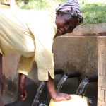 The Water Project: Shihome Community, Peter Majoni Spring -  The Joy Of Clean Water