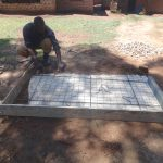 The Water Project: Shihome Community, Peter Majoni Spring -  Sanitation Platform Construction