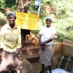The Water Project: Shihome Community, Peter Majoni Spring -  Water Joy