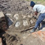 The Water Project: Machemo Community, Boaz Mukulo Spring -  Stone Pitching