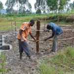 The Water Project: Machemo Community, Boaz Mukulo Spring -  Fencing