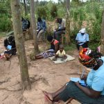 The Water Project: Mukhungula Community, Mulongo Spring -  Participants Take Notes At Training