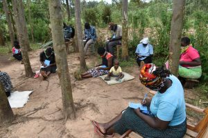 The Water Project:  Participants Take Notes At Training