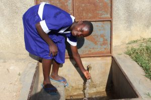 The Water Project:  Cecilia At The Rain Tank
