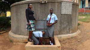 The Water Project:  At The Water Tank