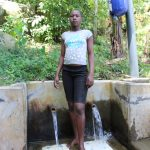 The Water Project: Bukhakunga Community, Khayati Spring -  Florah At The Spring