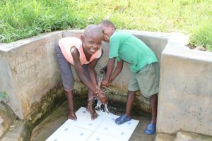 The Water Project:  Washing Hands With Clean Water