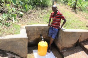 The Water Project:  Gerald At The Water Point