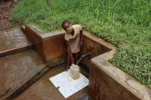 The Water Project:  Triza Fetching Water
