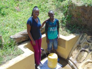 The Water Project:  Field Officer Masinde And Leon