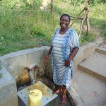 The Water Project: Mukoko Community, Mshimuli Spring -  Emily Vihenda