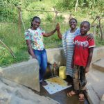 The Water Project: Mukoko Community, Mshimuli Spring -  People Posing At The Water Point