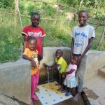 The Water Project: Mukoko Community, Mshimuli Spring -  Kids At The Spring