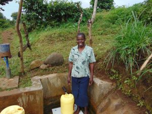 The Water Project:  Mildred Mukhwana At The Spring