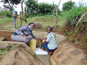The Water Project:  People At The Water Point