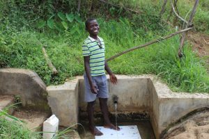 The Water Project:  Jovine At The Spring