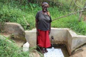The Water Project:  Juliana Muyoma At The Spring