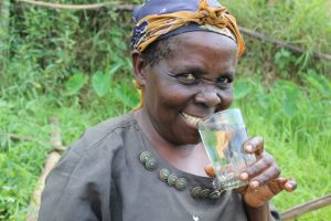 The Water Project:  Juliana Takes A Drink