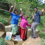 The Water Project: Musango Community, Mushikhulu Spring -  Happy Day At The Spring