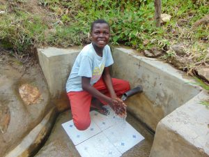 The Water Project:  Timothy At The Spring