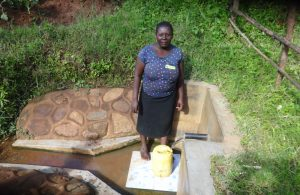 The Water Project:  Esther Tea Fetching Water