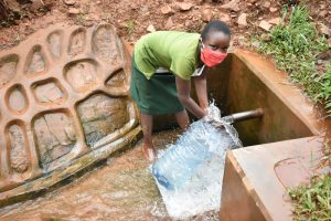 The Water Project:  Loreen Fetching Water