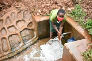 The Water Project:  Loreen Handwashing At The Spring