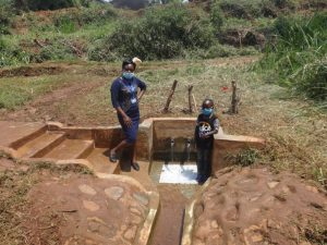 The Water Project:  Field Officer Mary And Vironitana