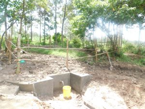 The Water Project:  Completed Fence