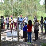 The Water Project: Shianda Township Community, Olingo Spring -  Emmah Teaches Students About The Olingo Spring Protection
