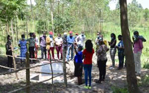 The Water Project:  Emmah Teaches Students About The Olingo Spring Protection