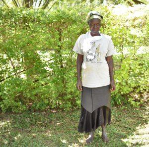 The Water Project:  Hamida Osimbo Water User Committee Secretary