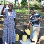 The Water Project: Shianda Township Community, Olingo Spring -  Olingo Spring Can Now Be Accessed Safely By All Ages