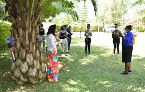 The Water Project:  Team Leader Emmah Talks To Kisasi University Students