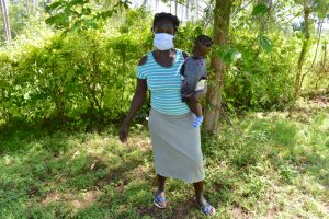 The Water Project:  Jamila Omwivanda With Her Baby