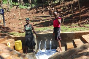 The Water Project:  Ruth And Flavian Celebrate The Spring