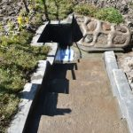 The Water Project: Machemo Community, Boaz Mukulo Spring -  Access Eased By Stairs