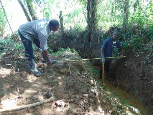 The Water Project:  Site Clearance And Site Measurements