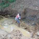 The Water Project: Kimang'eti Community, Kimang'eti Spring -  Excavation