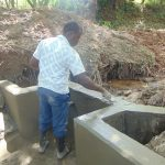 The Water Project: Kimang'eti Community, Kimang'eti Spring -  Plaster Works