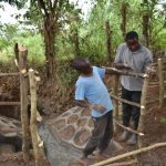 The Water Project: Kimang'eti Community, Kimang'eti Spring -  Fencing