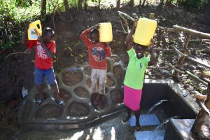 The Water Project:  People Posing At The Water Point