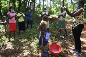 The Water Project:  Demontration On Handwashing