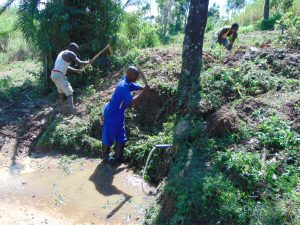 The Water Project:  Site Clearance
