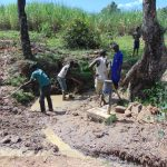 The Water Project: Mahira Community, Mukalama Spring -  Excavation Of The Spring Site